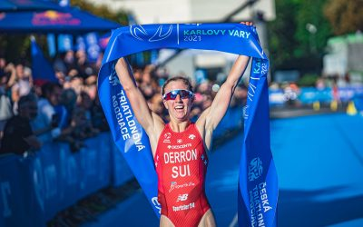 Triathlon World Cup in Karlovy Vary dominated by German Nygaard-Priester and Swiss Derron